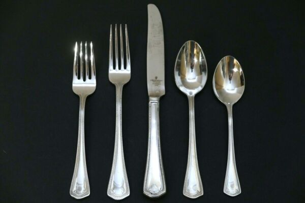 Waterford SOMERSET Stainless 5 Piece Place Setting Fork Spoon Knife