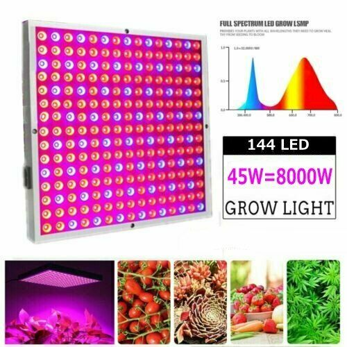 8000W LED Grow Light Hydroponic Full Spectrum Indoor Plant Flower Growing Lamp $26.99