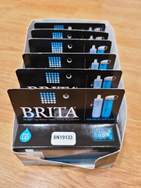 6 boxes Brita Bottle Replacement Filters 2 pack t 5 TOTAL 12 FILTERS