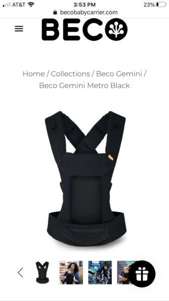 beco gemini baby carrier 4 In 1 $24.10
