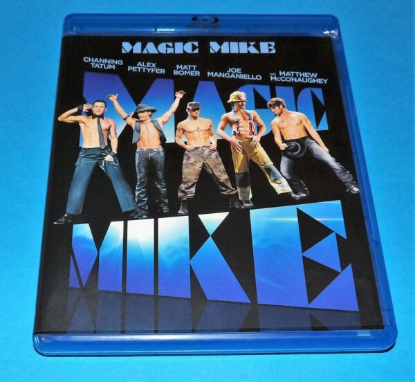 Magic Mike Mint Blu ray amp; DVD 2 Disc Set W Slipcover amp; With Free Shipping $5.00