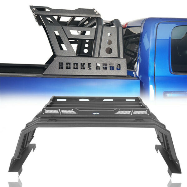 Roll Bar High Bed Back Rack Top Luggage Carrier Baggage For Dodge Ram 1500 09 18