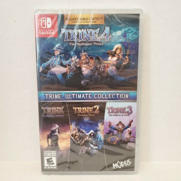 Trine 4 Ultimate Collection Nintendo Switch 1 2 3 amp; 4 BRAND NEW amp; FACTORY SEALED $16.99