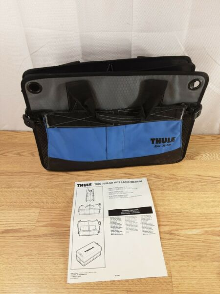 Thule Go Box Bag Travel Trunk Car Sports Camp Tub Suit Case 24 X 18 collapsible $39.99