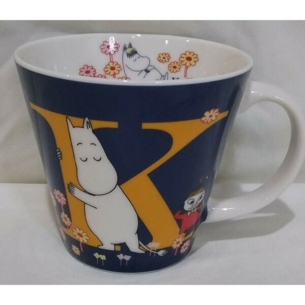 THE STORY OF MOOMINVALLEY K Coffee Cup Mug Characters Mountains Flowers