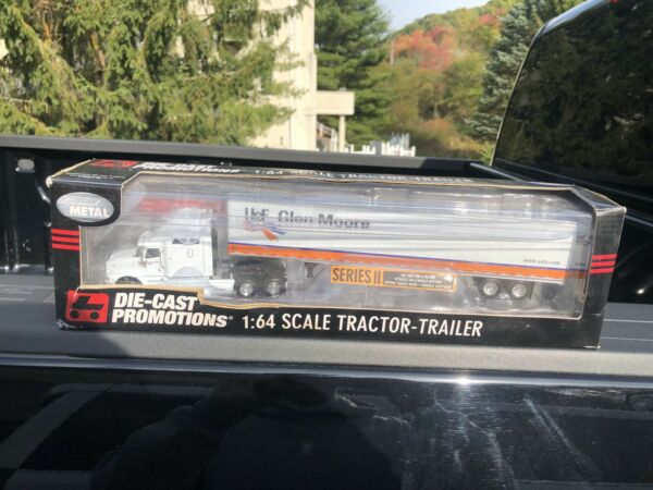 DIE CAST PROMOTIONS USF Glen Moore Tractor Trailer 1:64 Scale Die Cast Rare $100.00