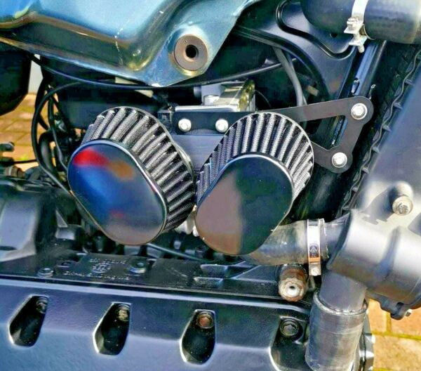 BMW K100 Air Filter Adapter Full Kit Double cone Filter
