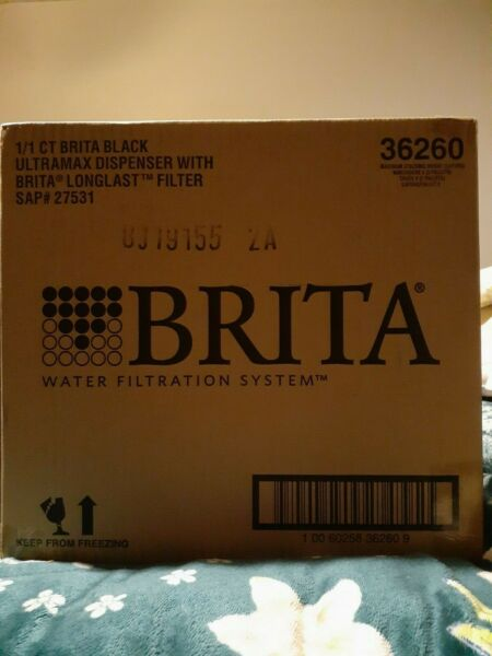 Brita Ultra Max with 1 Longlast Filter Extra Large 18 Cup Black