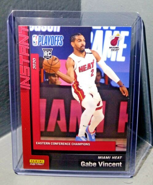 Gabe Vincent 2019 2020 Panini NBA Instant Heat #265 Rookie Card 1 of 303 $34.95