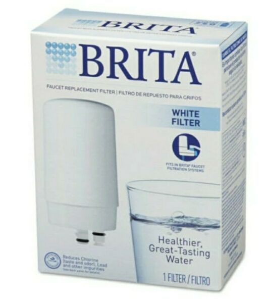 BRITA ON TAP FAUCET WATER FILTER SYSTEM REPLACEMENT FILTERS WHITE 42401