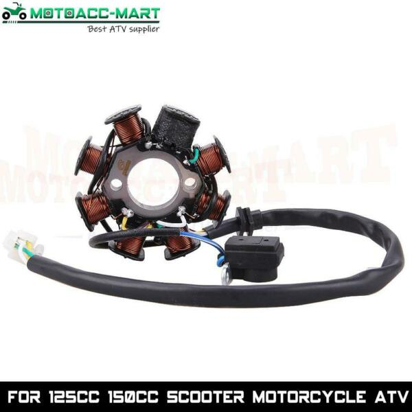 Magneto 8 Coil 8 Pole GY6 50cc Scooter ATV TaoTao ROKETA For Chinese Stator $18.95