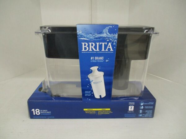 BRITA WATER FILTER SYSTEM 1 FILTER INCLUDED 18 CUP CAPACITY KW 1207