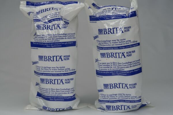 2 new Brita Water Pitcher filters replacements