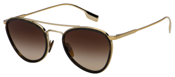 Burberry Sunglasses BE 3104 114513 51 Dark Havana Light Gold Brown Gradient $84.99