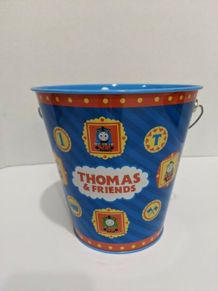 Thomas amp; Friends Metal Sand Bucket 2000 Pail with Handles $6.00