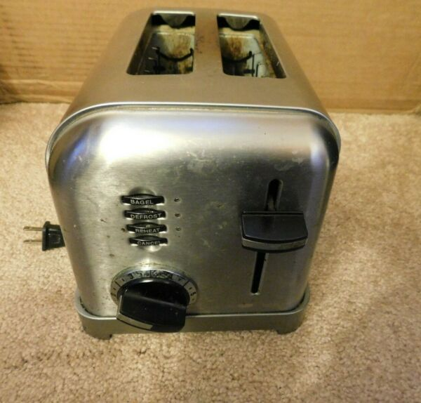 Cuisinart CPT 160 Classic 2 Slice Toaster Stainless