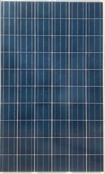 Lot of 10 Used 240W 60 Cell Polycrystalline Solar Panels Vinyl Cracking Silver $390.00