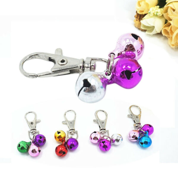 1*Pet Dog Cat Collar Animal Bell Accessories For Collar Loud Bell kitten Safety $1.75