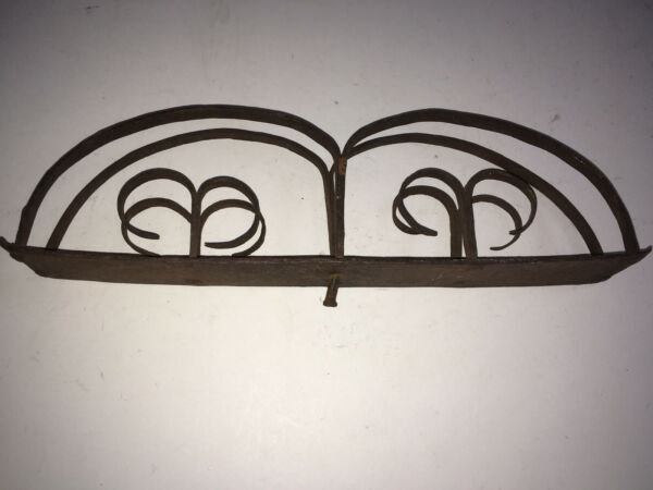 Antique fireplace Wrought Iron Toaster