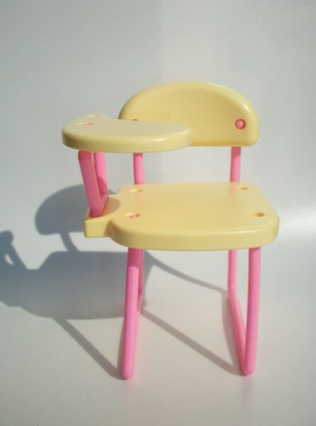 BARBIE SISTER KELLY TOMMY SIZE DOLL DOLLHOUSE SEAT WITH TABLE $7.70