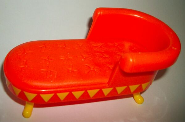 BARBIE SISTER KELLY TOMMY SIZE DOLL DOLLHOUSE SOFA BED ACCESSORY FURNITURE $5.50