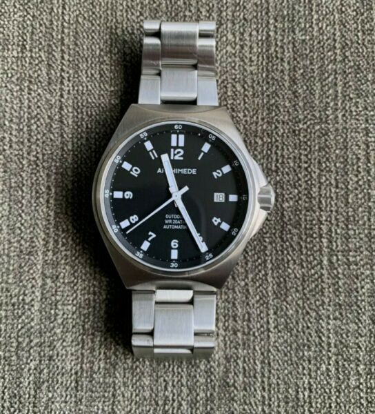 Archimede Outdoor Protect 39 Excellent Condition Black Automatic 39mm Watch $650.00