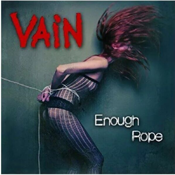 Vain Enough Rope Cd Record New *Official* Rock Heavy Metal No Respect Glam NEW