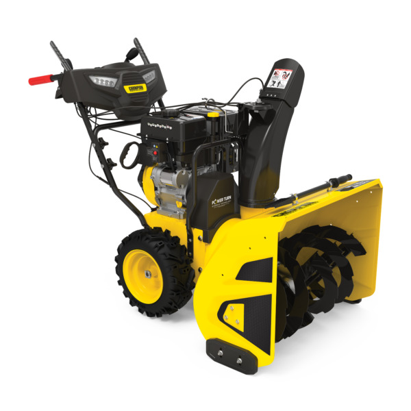 100536 30quot; Champion Snow Blower w Electric Start amp; Power Steering