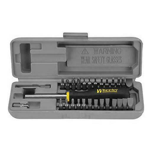 Wheeler 664507 Space Saver Gunsmith Screwdriver Set Tool 26 Bit