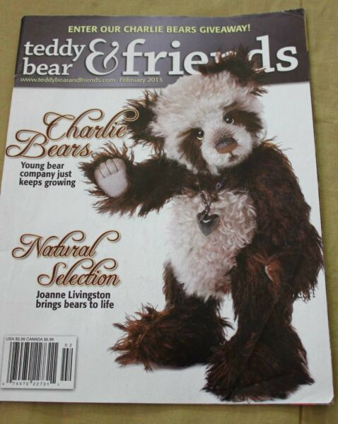 Teddy Bear amp; Friends Collectors Magazine February 2013 Dog Patterns $4.49