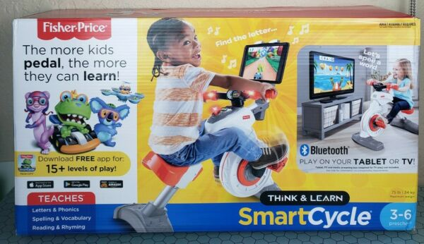 NIB Fisher Price Think amp; Learn Smart Cycle Bike Bluetooth Apple Android 100% $169.91