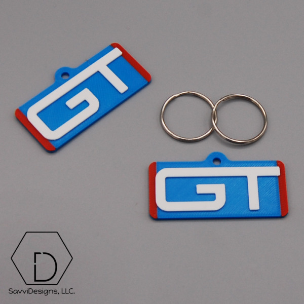 Grand Trunk Western GT Railroad Railway Keychain Pack of 2 $8.99