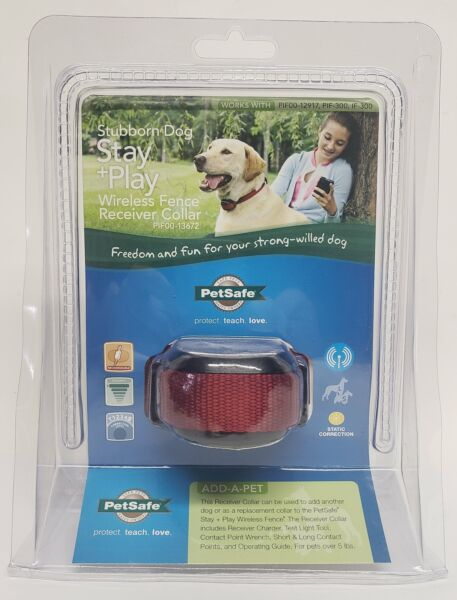 PetSafe Stay amp; Play Wireless Receiver Collar for Stubborn Dogs PIF00 13672 $87.99