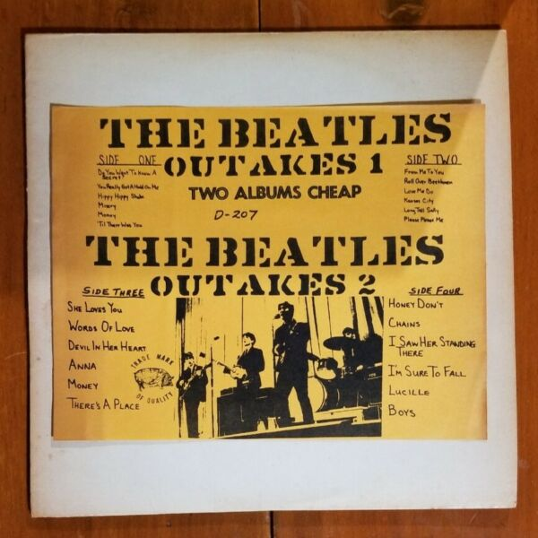 The Beatles – Outakes 1 amp; Outakes 2 1972 TMQ D 207