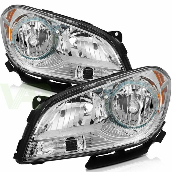 For Chevy Malibu 2008 2012 Aftermarket Headlight Assembly Pair Left Right Sides $119.52