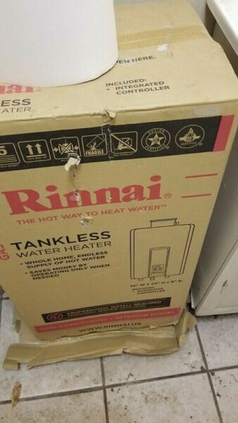 Rinnai V65iN 6.5 GPM Indoor Tankless Natural Gas Water Heater $600.00