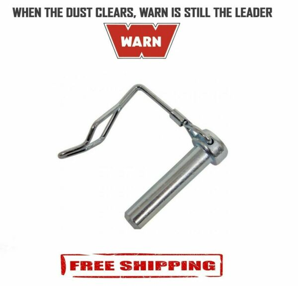 Warn Single Snow Plow Hinge Pin For Warn Snow Plow with Clip 79712