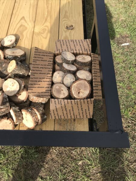 Pecan WOOD FOR SMOKING GRILLING BBQing Slices And Chunks $23.00