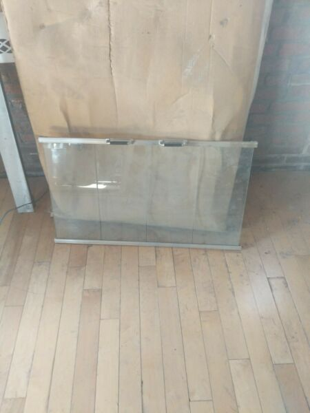 Tempered Glass Doors For Fireplace 36 In