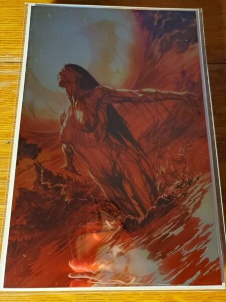 VAMPIRELLA 1 Dynamite Alex Ross Virgin Variant RARE METAL Cover Indiegogo NM NM