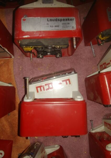 Strobe Loudspeaker Federal Signal Fire Evac Device Reduced Shipping for more