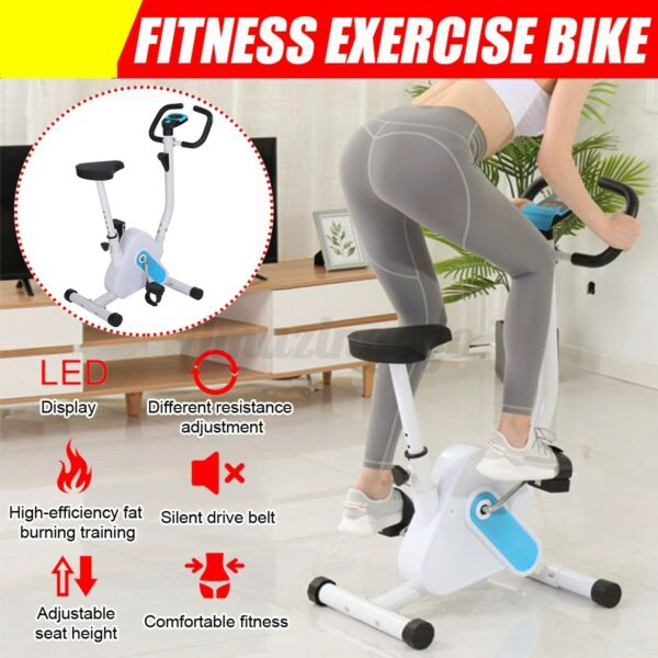 Bicycle Cycling Fitness Gym Exercise Stationary Bike Cardio Workout Indoor USA $100.60