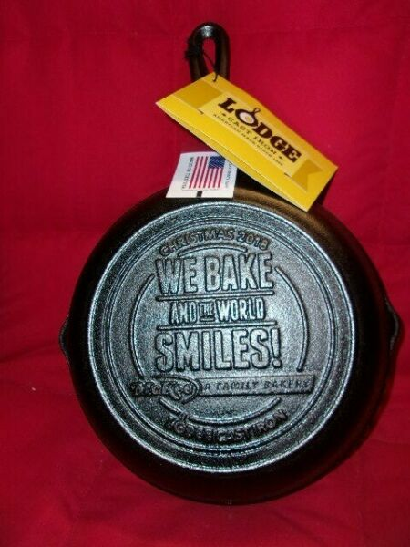 Rare Little Debbie LODGE Cast Iron Skillet New