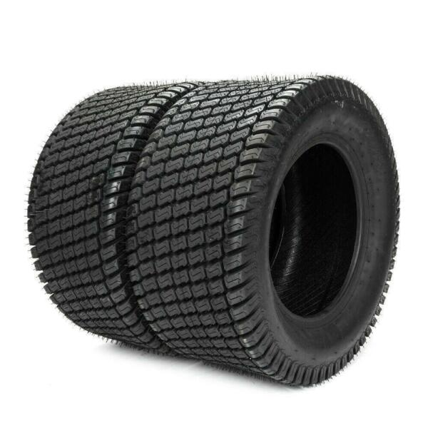 SW:8.15quot; P332 Garden Lawn Mowers set of 2 wheels 20x8.00 8 4PLY tires Tubeless