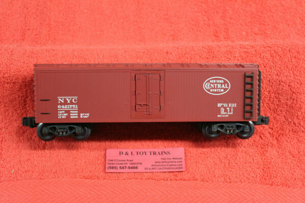 642 1751 New York Central Wood Side Reefer Car NEW IN BOX $42.49