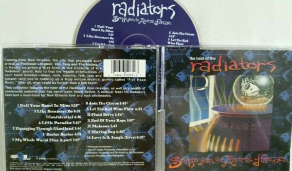 CD THE BEST OF THE RADIATORS USA SONGS FROM THE ANCIENT FURNACE 14 TRACKS GBP 8.00