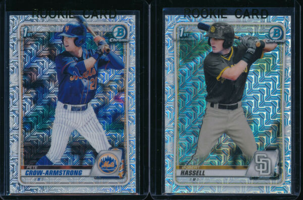 ASIA EDITION 2020 BOWMAN CHROME DRAFT MOJO REFRACTOR EXCLUSIVE Singles: You Pick