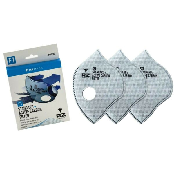 Brand New RZ Mask F1 Standard Active Carbon Filter Size: Large Pack of 3 $10.98