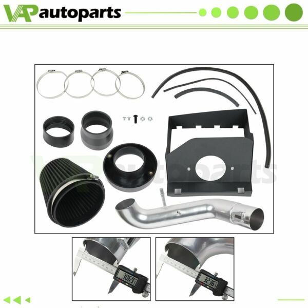 Fits Ford F 150 5.0L V8 11 14 Car Cold Air Intake Kit amp; Filter Heat Shield 3.5quot; $75.89