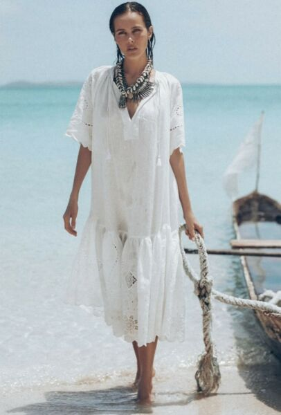 Spell amp; The Gypsy Lala Linen House Dress $190.00